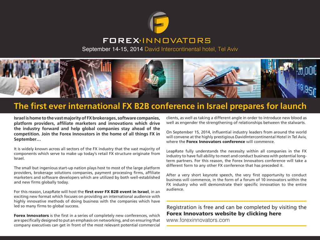 Forex Innovators Conference