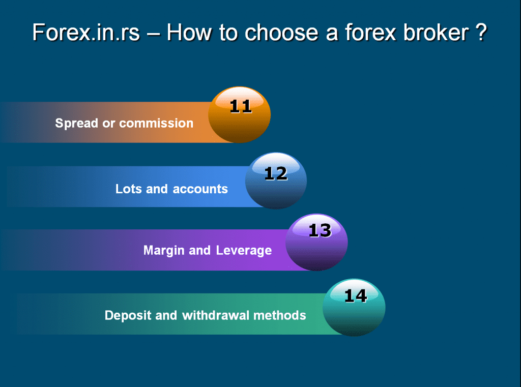 How to choose forex broker - comission and currency