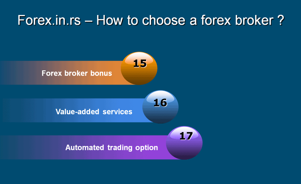 how to choose forex broker - bonus and additions