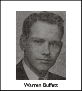 Warren buffett young