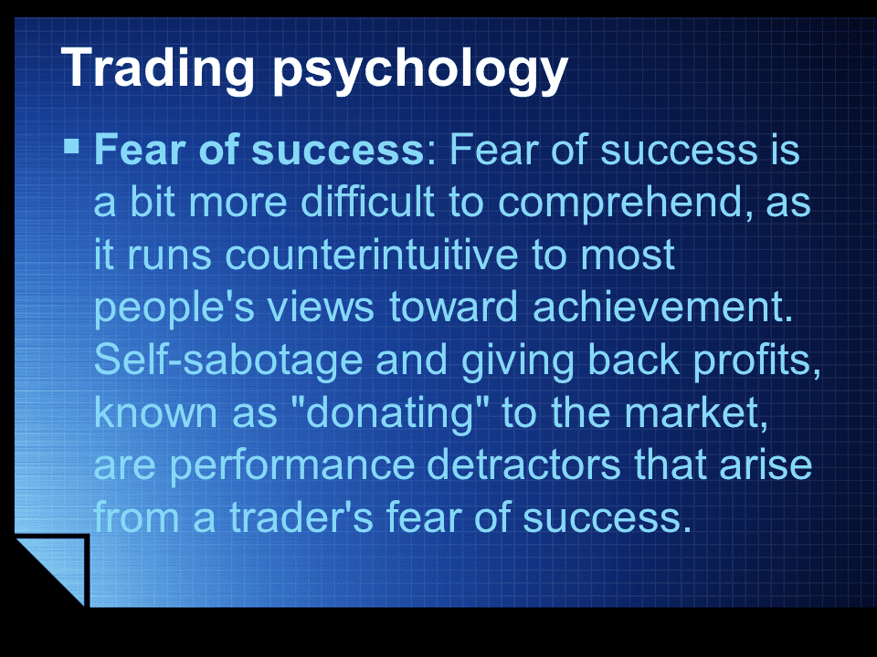 Trading Psychology overtrading