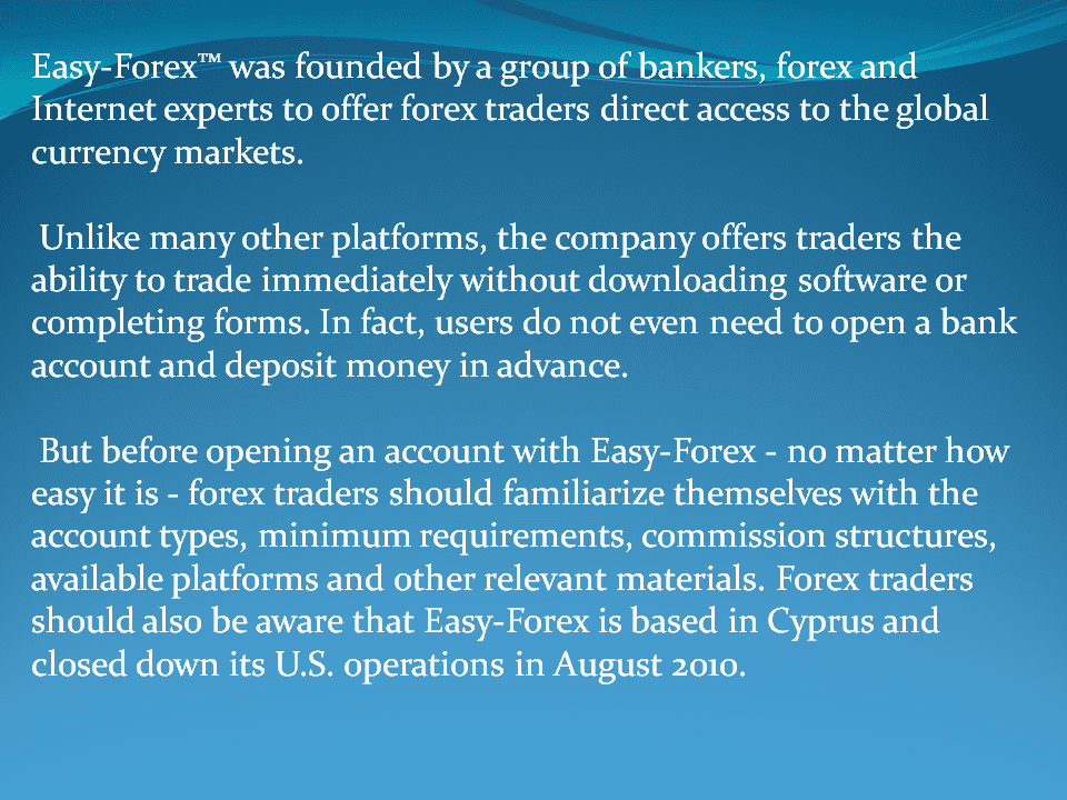 Forex courses limassol