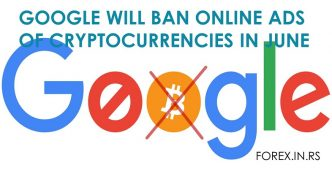 Google Will Ban Online Ads of Cryptocurrencies in June 2018