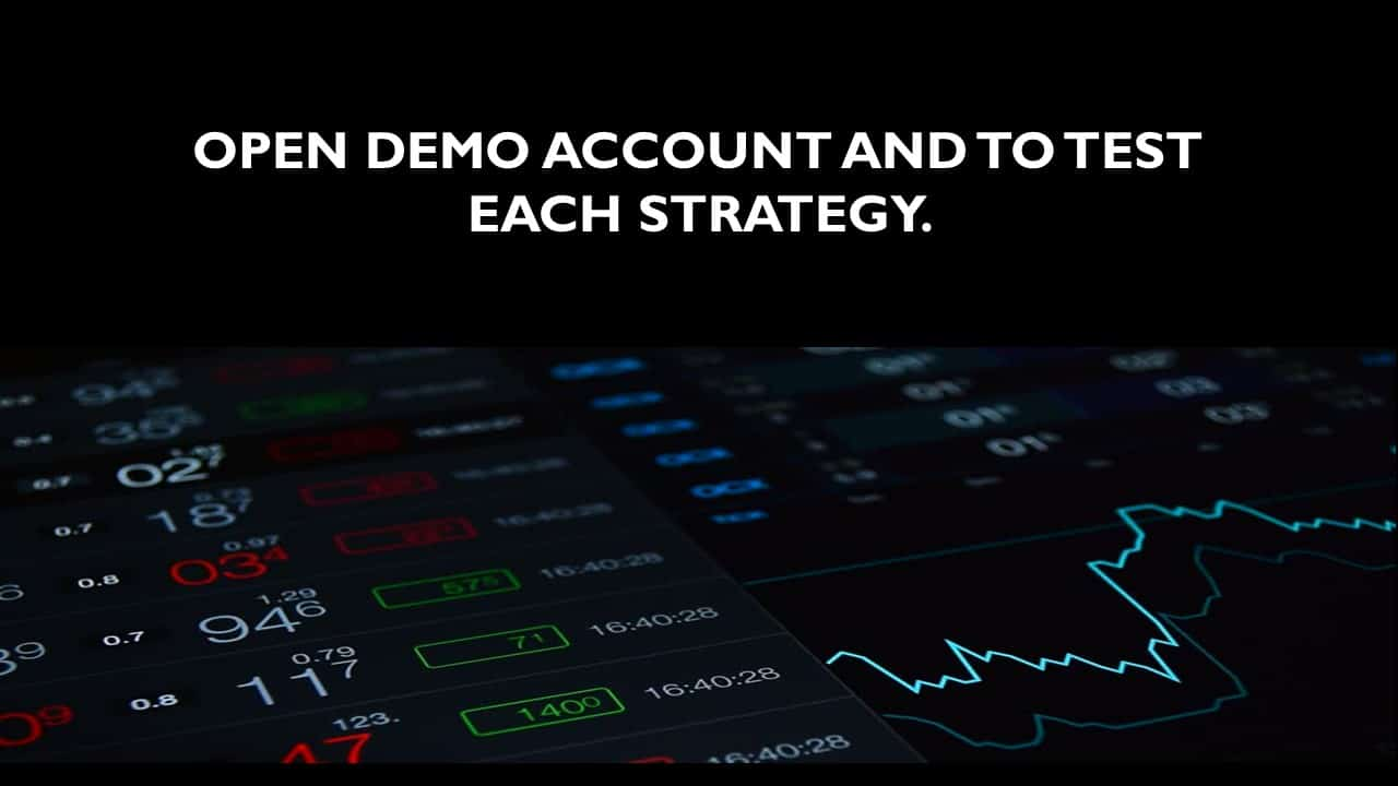 slide 3 - test each strategy and learn futures trading